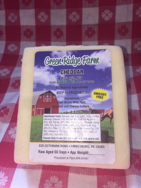 Cheddar cheese 20oz no GMO