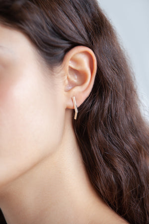 FRONT ANGLE EARRINGS
