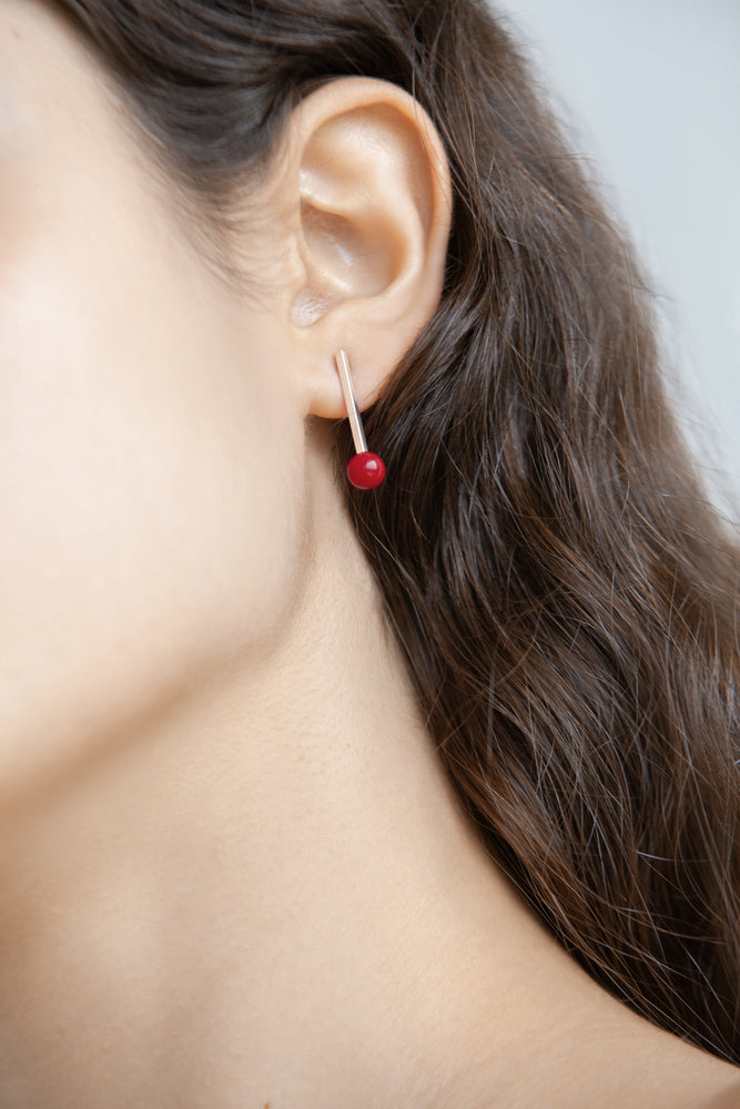 LONG STRAIGHT EARRINGS