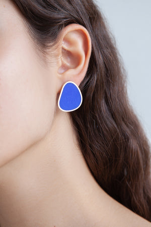 SWIMMING POOL MEDIUM EARRINGS