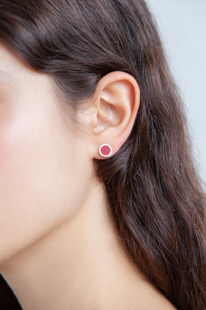 LITTLE ROUND EARRINGS