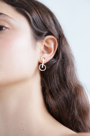 DOUBLE ON EARRINGS