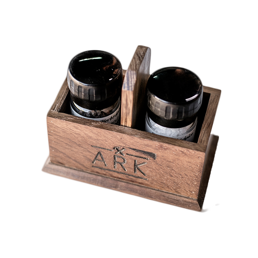 Salt and Pepper Holder - ARK Workshop Homeware and Furniture