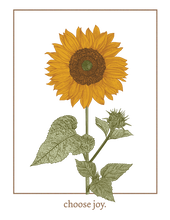 Load image into Gallery viewer, Choose Joy Sunflower Tee – Toddler