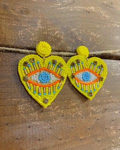 Este Corazon Earrings