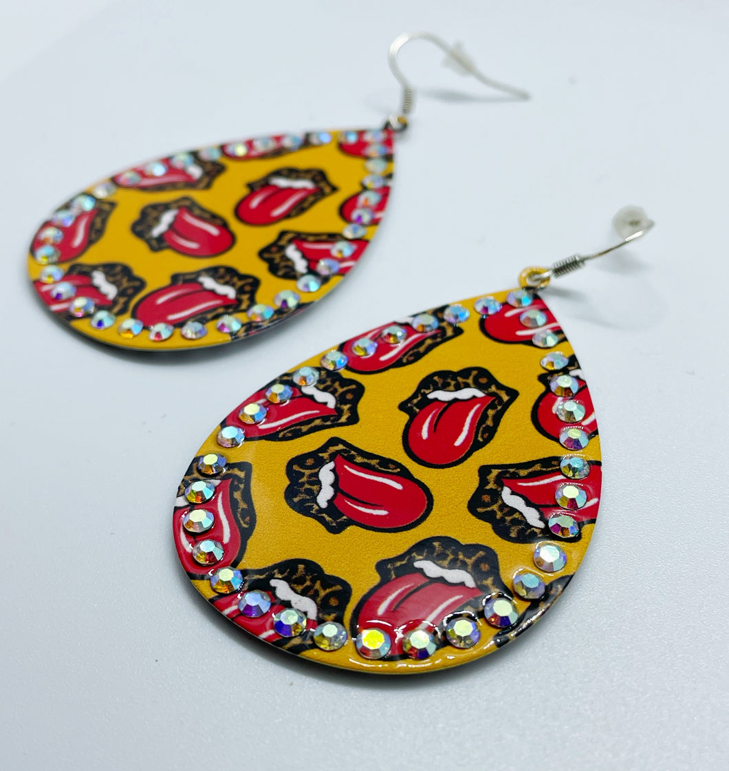 Tongue Tied Earrings