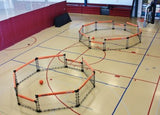 Two Mamba GaGa Ball Pits in gym