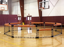 Load image into Gallery viewer, GaGa pit in gymnasium
