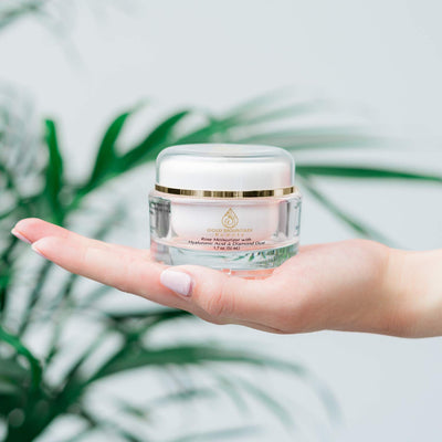 Anti Aging Face Cream Moisturizer - with Rose Scent
