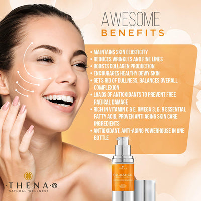 Anti aging Face Oil Serum With Vitamin