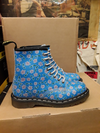 DR MARTENS - BLUE CREEK FLORAL 1460 - The British Boot Company LTD