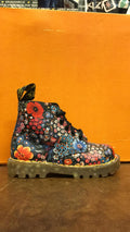 DR MARTENS - BLACK WILD POOPY 6004 - The British Boot Company LTD