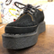 GEORGE COX - BLACK SUEDE CREEPER (3588) - The British Boot Company LTD