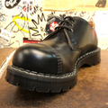 GRINDERS - REGENT (BLACK LEATHER) - The British Boot Company LTD