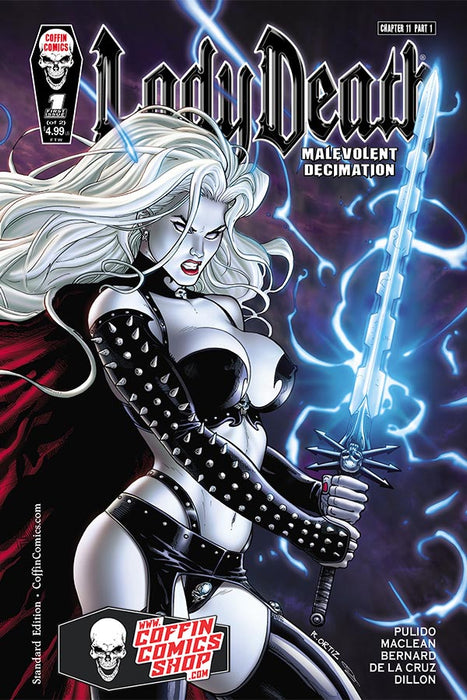 Lady Death: Malevolent Decimation #1 (of 2) - Standard Edition