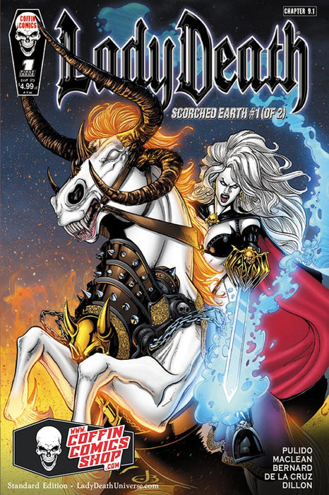 Lady Death: Scorched Earth #1 (of 2) - Standard Edition