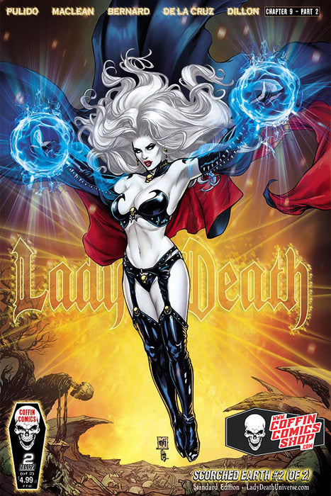 Lady Death: Scorched Earth #2 (of 2) - Comic Shop Standard Edition