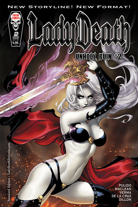 Lady Death: Unholy Ruin #2 - Standard Edition