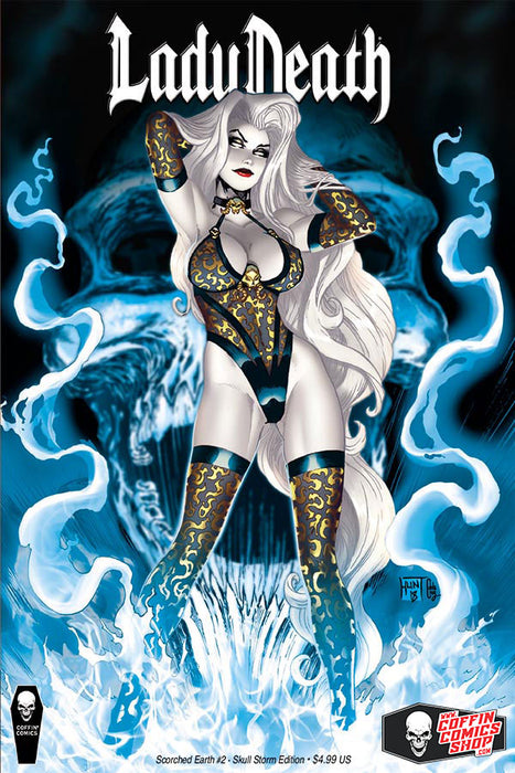 Lady Death: Scorched Earth #2 (of 2) - Skull Storm Edition