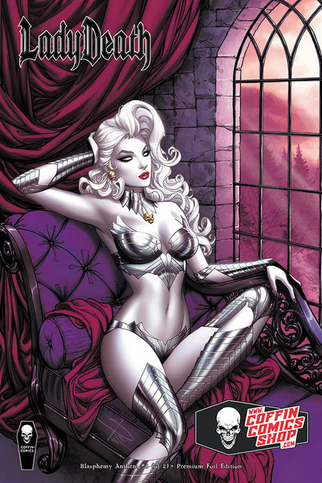 Lady Death: Blasphemy Anthem #1 (of 2) - Comic Shop Premium Foil Edition