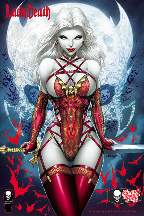 Lady Death: Scorched Earth #2 (of 2) - Comic Shop Premium Foil Edition