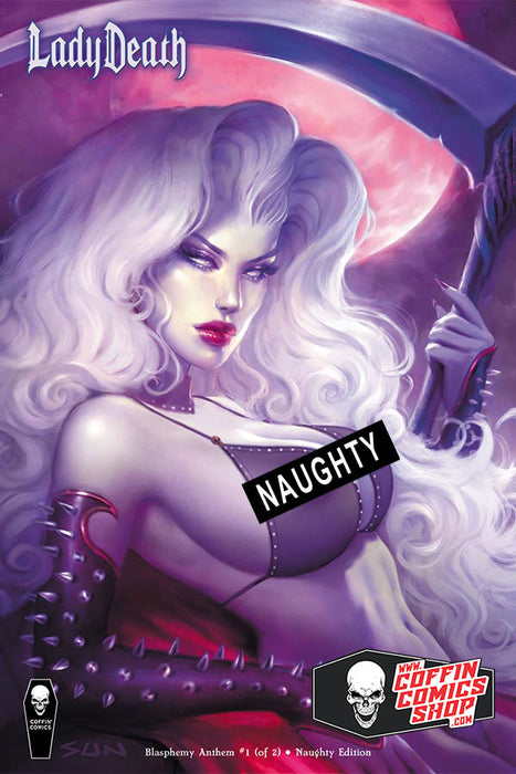 Lady Death: Blasphemy Anthem #1 (of 2) - Comic Market Naughty Edition