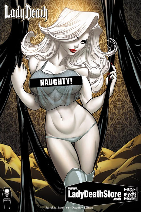 Lady Death: Scorched Earth #1 (of 2) - Naughty Edition