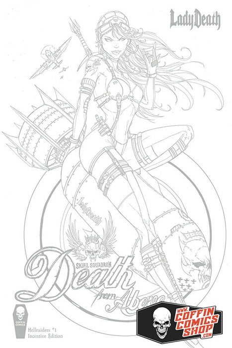 Lady Death: Hellraiders #1 - Incentive Edition