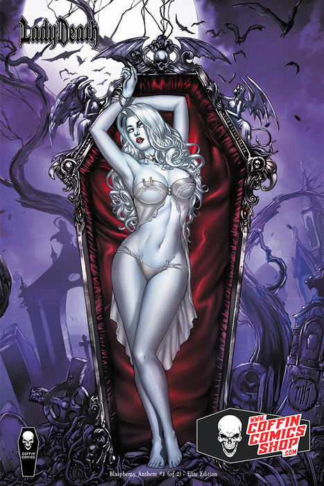 Lady Death: Blasphemy Anthem #1 (of 2) - Comic Shop Elite Edition