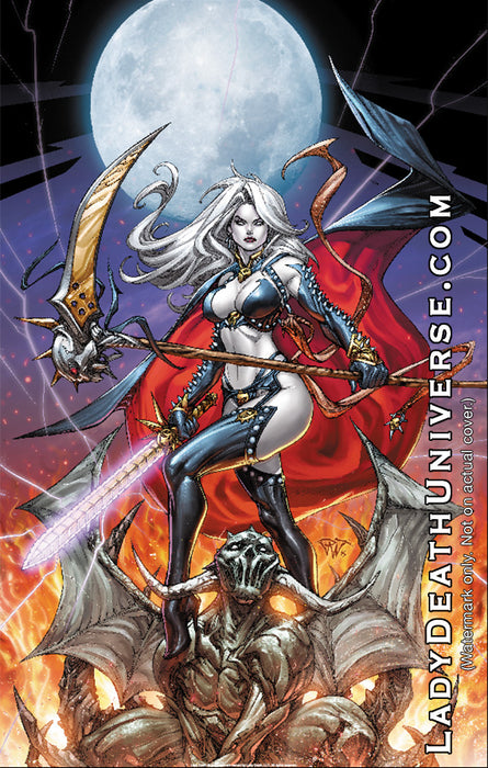"Lady Death: Slayer 11x17"" Print"