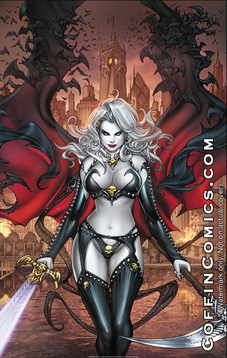 "Lady Death: Chaos Rules 11x17"" Print"