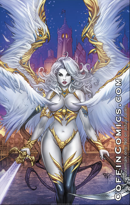 "Lady Death: Chaos Rules Heaven 11x17"" Print"