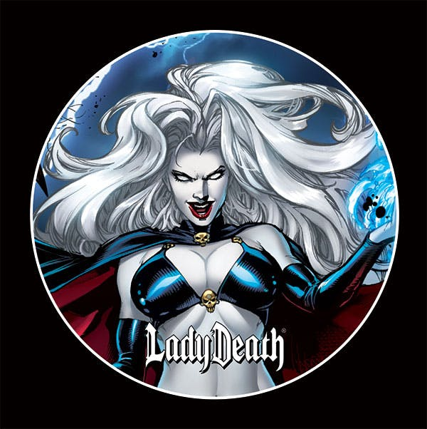 Lady Death: Malevolent Decimation Button