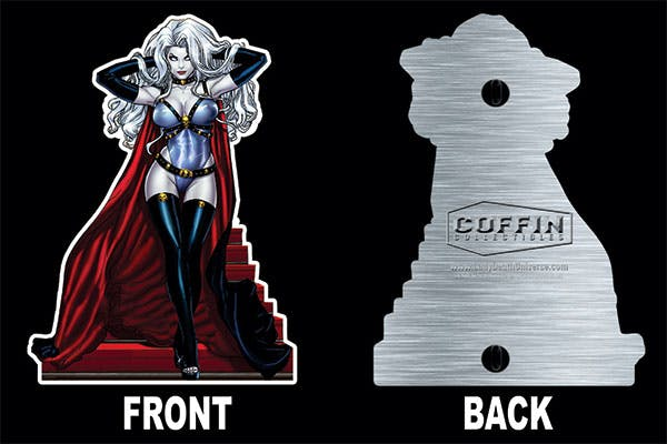 Lady Death: Majestic Enamel Figure Pin