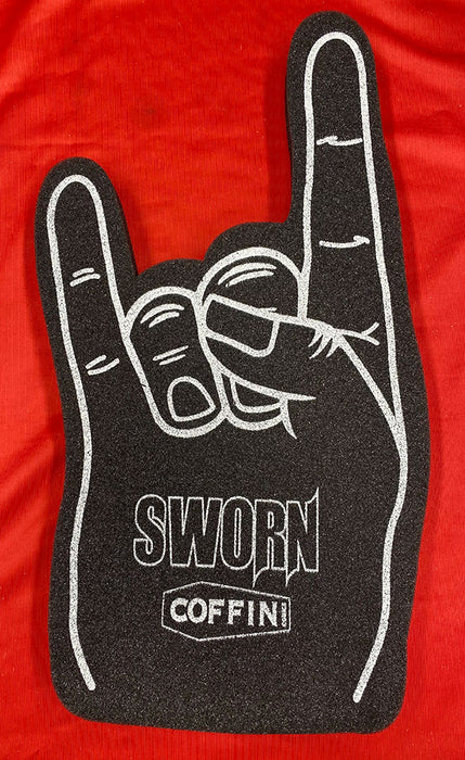 "Coffin Comics ""Sworn"" Foam Fingers"