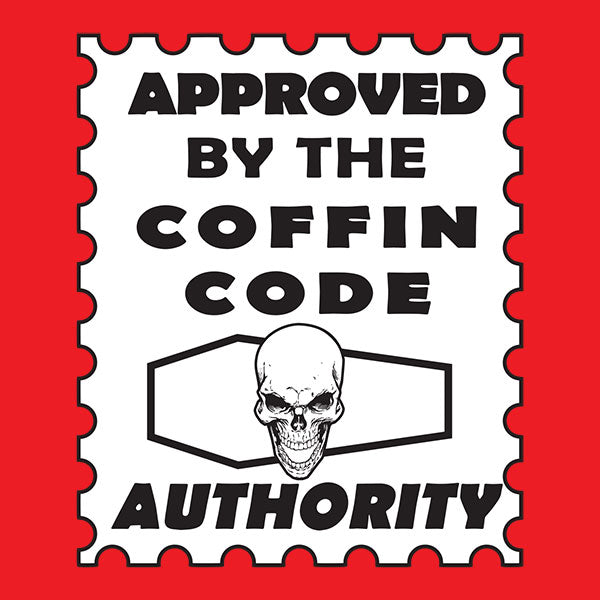 Coffin Code Authority Vinyl Sticker