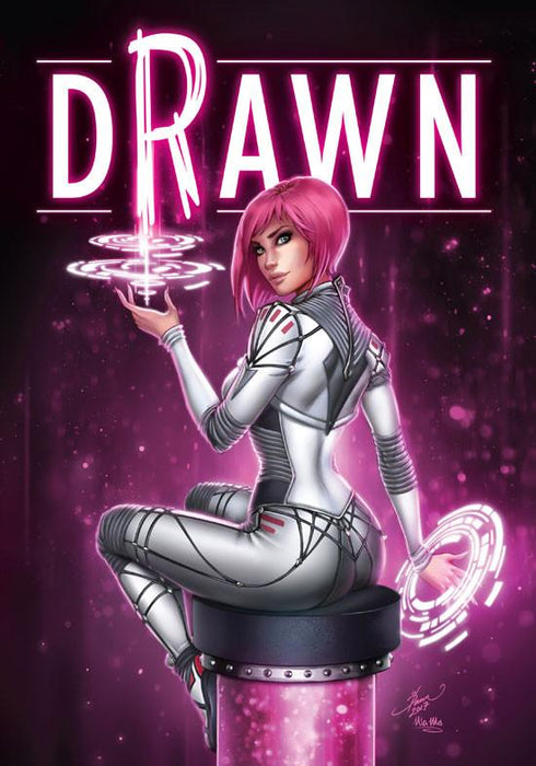 Drawn: The Art of Dawn McTeigue Hardcover Art Book