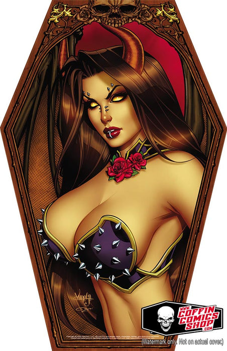"Hellwitch: Coffin-Shaped 11x17"" Print"