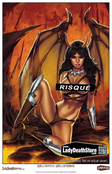 "Hellwitch: Hellbourne - Limited Risque Commemorative 11x17"" Print"