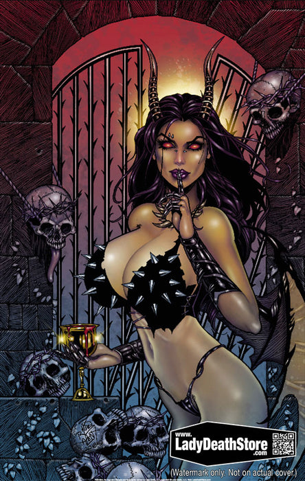 "Hellwitch: Jim Balent Legend 11x17"" Print"