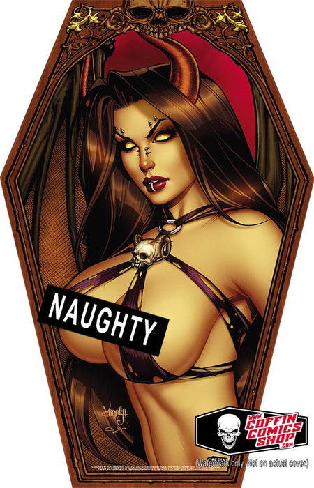 "Hellwitch: Naughty Coffin-Shaped 11x17"" Print"