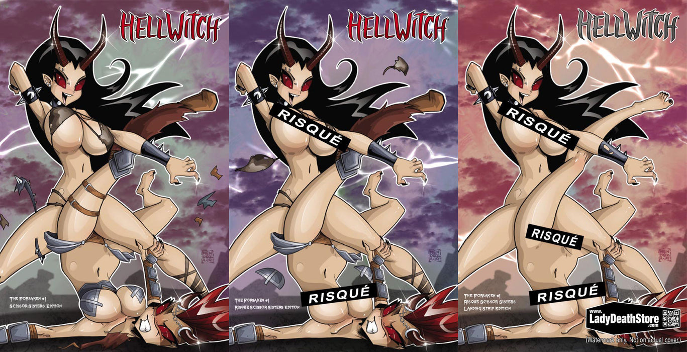 Hellwitch: The Forsaken #1 - Scissor Sisters 3-Book Set