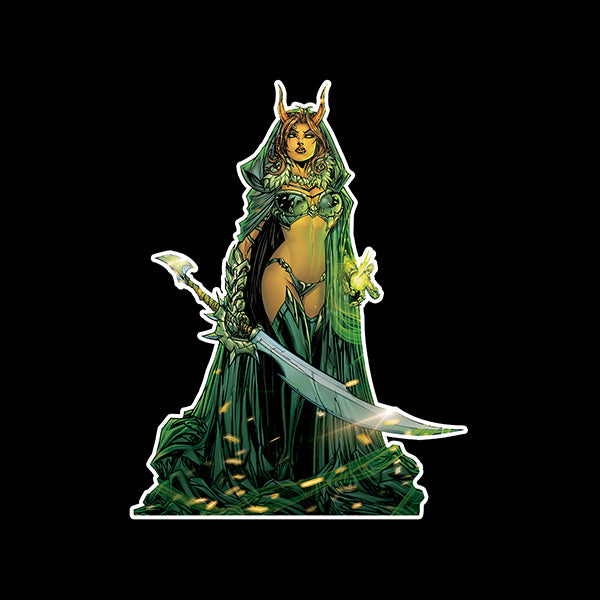 Hellwitch Soft Enamel Figure Pin