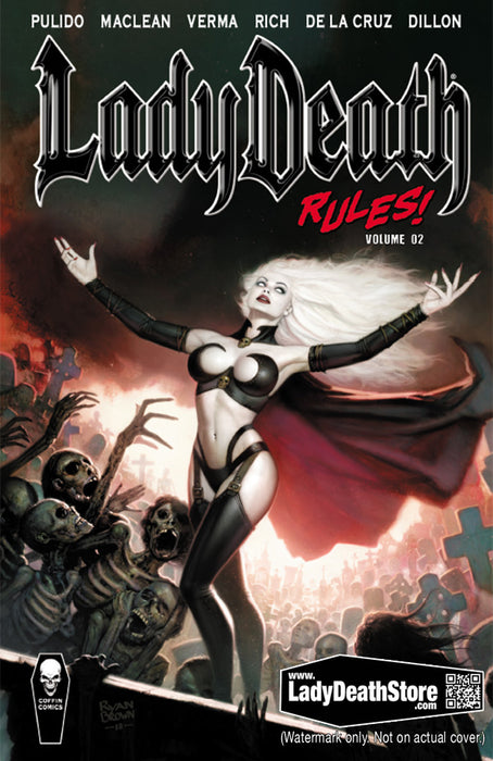 Lady Death Rules! Vol. 2 - Trade Paperback