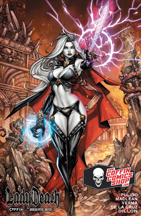 Lady Death: Apocalyptic Abyss - Hardcover Edition