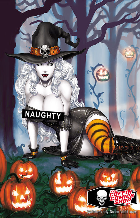 Lady Death: All Hallows Evil #1 - Naughty Witch Virgin Art Edition