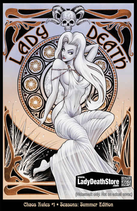 Lady Death: Chaos Rules #1 - Seasons in the Abyss Summer Edition