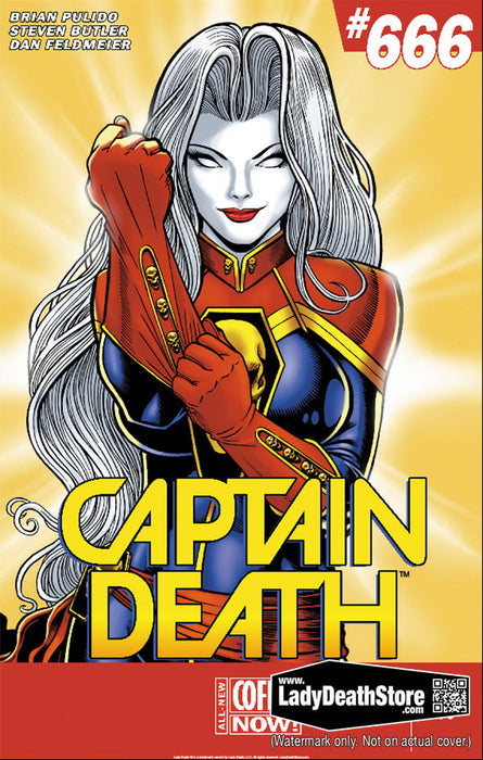 "Lady Death: Captain Death 11x17"" Print"