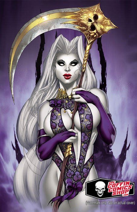 Lady Death: Damnation Game #1 - Sublime Virgin Art Edition