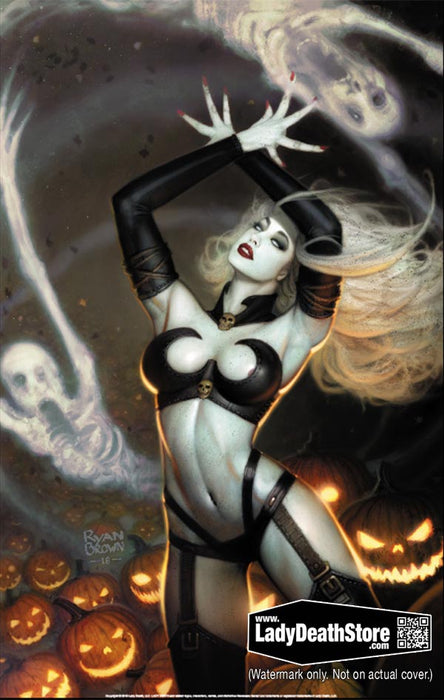 "Lady Death: Dark Harvest 11x17"" Print"